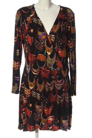 DIDI pretty different Robe portefeuille imprimé allover style décontracté