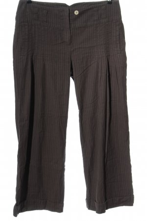 Didi Jersey Pants brown-natural white allover print casual look
