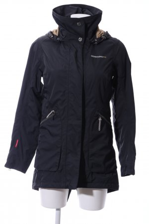Didriksons Heavy Raincoat black casual look