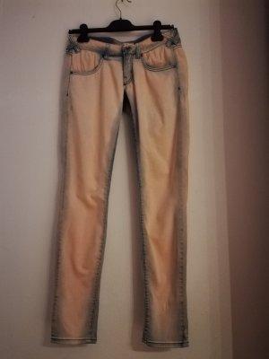 MET Jeans skinny color oro rosa