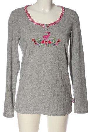 Die Spiegelburg Longsleeve light grey-pink flecked casual look