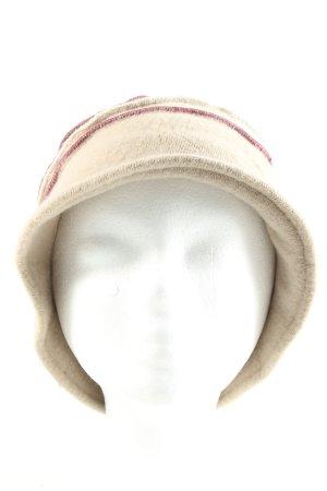 Diefenthal Sombrero de punto crema look casual