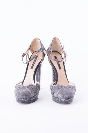 DIEGO DOLCINI - High Heels mit Riemchen Grau