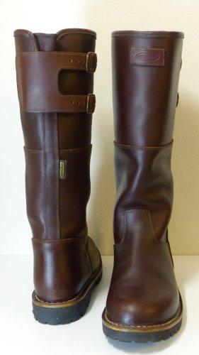 Botas de invierno marrón Cuero