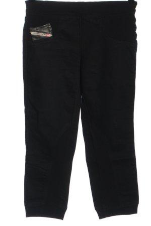 Diesel Pantalone a 3/4 nero stile casual