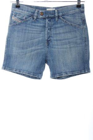 Diesel Shorts blau meliert Casual-Look