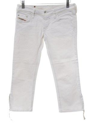 Diesel 3/4 Jeans weiß Casual-Look