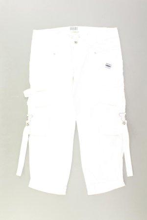 Diesel Pantalón tobillero blanco puro Algodón