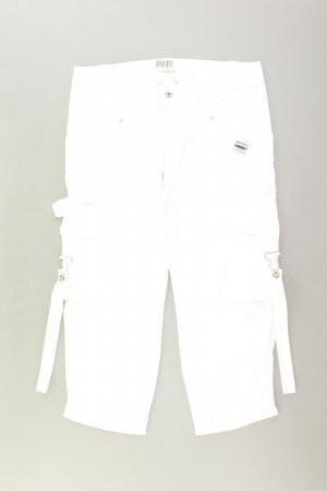Diesel 7/8 Length Trousers natural white cotton