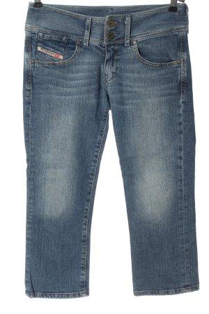 Diesel Jeansy 7/8 niebieski W stylu casual