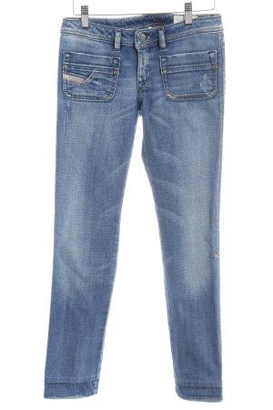 Diesel 7/8 Jeans blau Country-Look