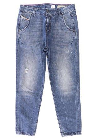 Diesel 7/8 Length Jeans blue-neon blue-dark blue-azure cotton