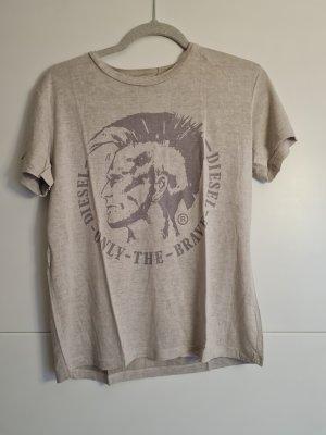 Diesel T-shirt crème-beige