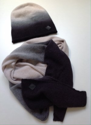 Diesel Cashmere Scarf multicolored angora wool