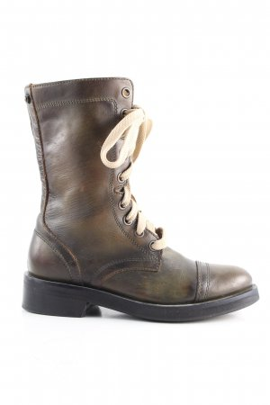Diesel Ankle Boots braun Casual-Look