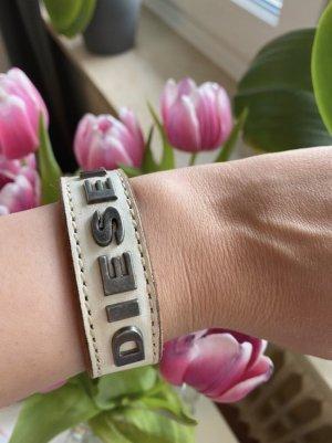 Diesel Armband wit-zilver