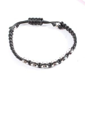 Diesel Armband schwarz Casual-Look