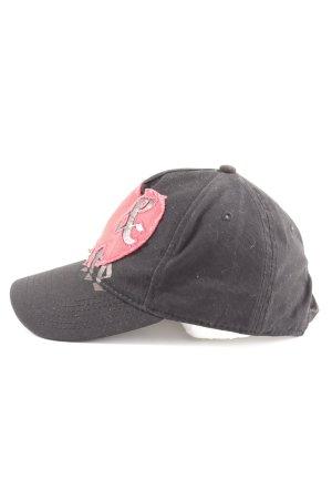 Diesel Basecap schwarz schlichter Stil
