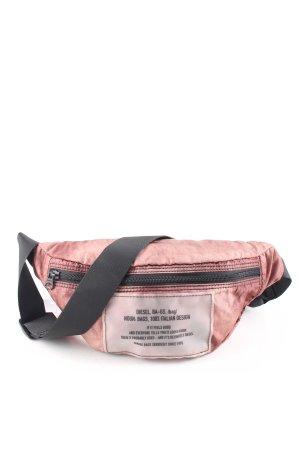 Diesel Bumbag pink-black casual look