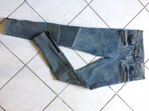 Diesel Jeans de moto multicolore
