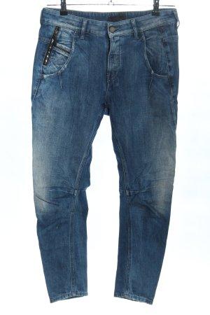 Diesel Black Gold Boyfriend Jeans blue casual look