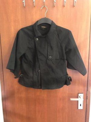 Diesel Black Gold Blouse Jacket black cotton