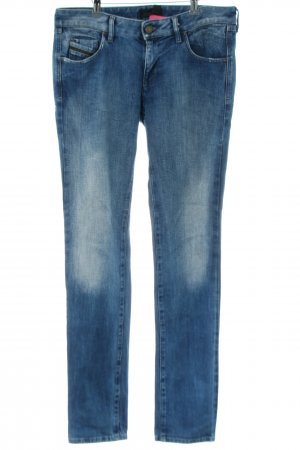 Diesel Black Gold Slim Jeans blau Casual-Look