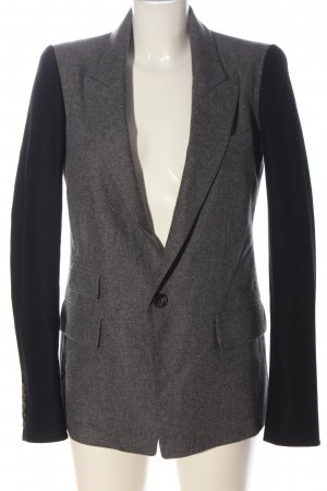 Diesel Black Gold Blazer en laine gris clair-noir moucheté style d'affaires