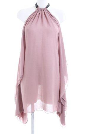 Diesel Robe chemisier rose-noir style décontracté