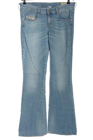 Diesel Boot Cut Jeans blau Casual-Look