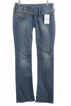 Diesel Boot Cut Jeans blau Casual-Look