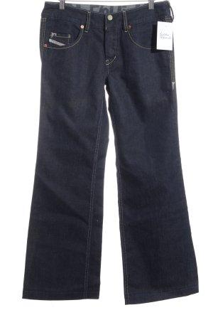 Diesel Boot Cut Jeans dunkelgrau Casual-Look