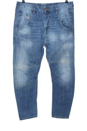 Diesel Boyfriend jeans blauw casual uitstraling