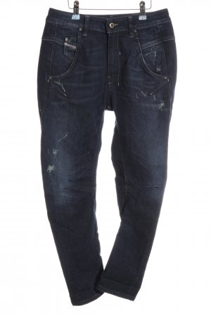 Diesel Jeans boyfriend bleu style décontracté