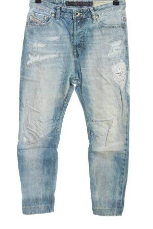 Diesel Jeansy typu boyfriend niebieski W stylu casual