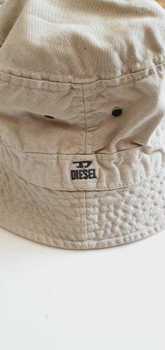 Diesel Buckethat Hut Mütze creme beige