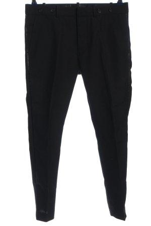 Diesel Pleated Trousers black casual look