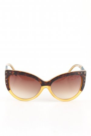 Diesel Butterfly Glasses brown-primrose color gradient business style