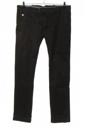 Diesel Pantalone chino nero stile casual