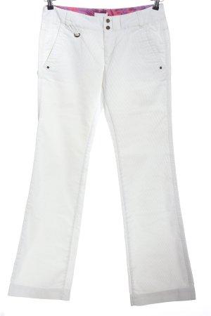 Diesel Corduroy Trousers white casual look