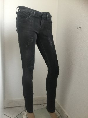 Diesel Stretch Jeans black mixture fibre