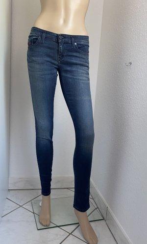 DIESEL Damen 12 cm Stretch Denim Skinzee-Low Jeans W27 L32