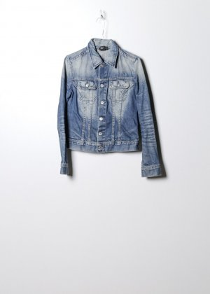 Diesel Damen Denim Jacke in Blau