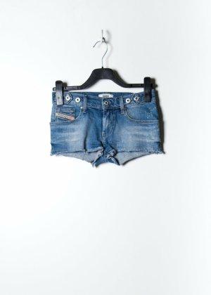 Diesel Damen Jeans Shorts in Blau