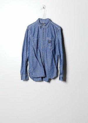 Diesel Damen Jeanshemd in Blau