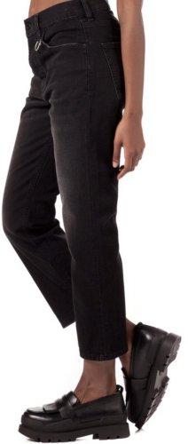 Diesel Pantalone a 3/4 nero