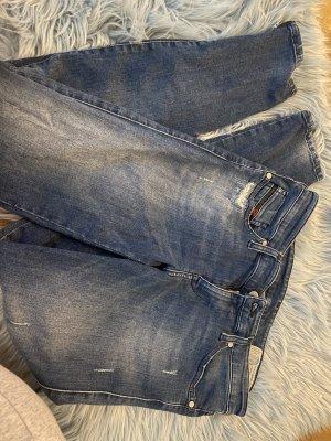Diesel Wortel jeans veelkleurig