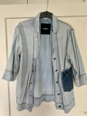 Diesel Denim Shirt blue-dark blue