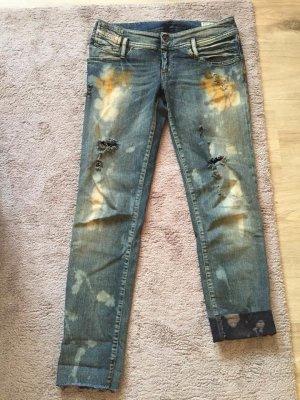 Diesel Slim Jeans multicolored cotton
