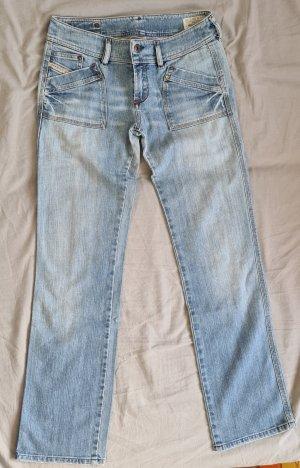 Diesel Jersey Pants azure